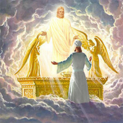 Shekinah, Jeshua On Ark of the Covenant